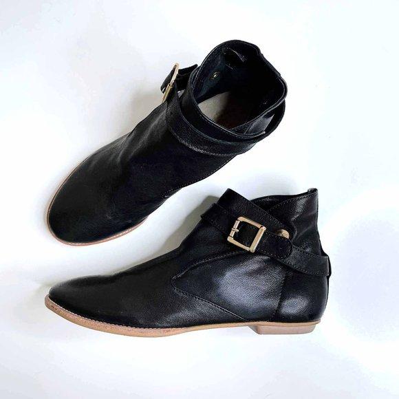 House of Harlow Hollie leather booties